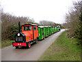 SZ1790 : Hengistbury Head land train in operation by Jim Champion