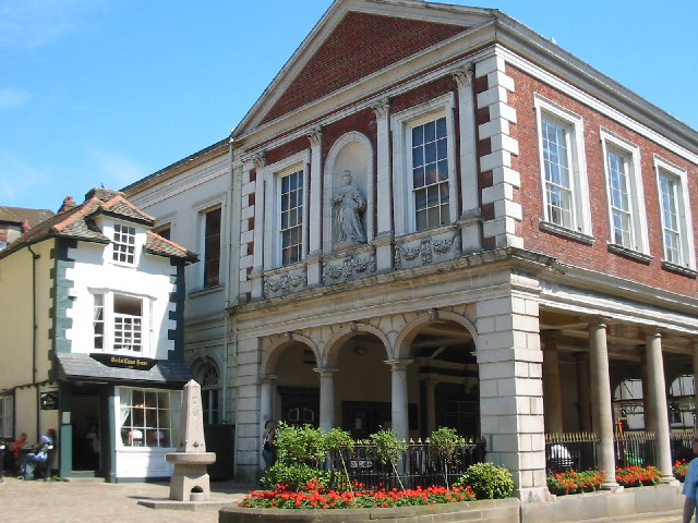 """The Guildhall and the """"Crooked House"""", Windsor"""