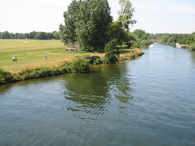 River Thames from Victoria Bridge, Datchet
