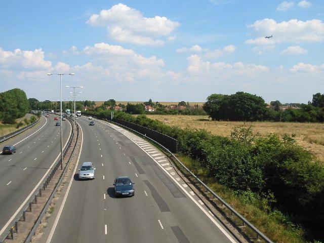M4 Motorway, between Datchet and Langley