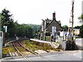 SS6811 : Eggesford Railway Station by Richard Knights