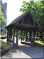 TQ5486 : The Litch Gate, St. Andrew's Church, Hornchurch, Essex by John Winfield