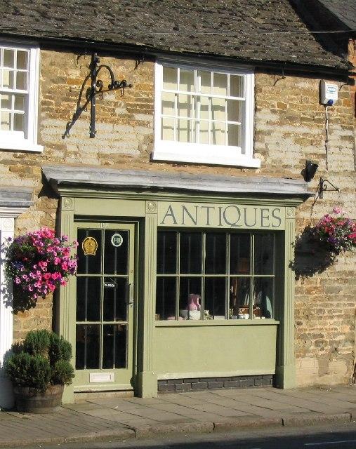 Antiques Shop in Mill Street, Oakham