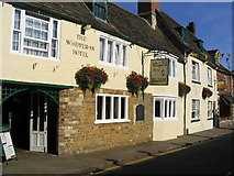 SK8608 : The Whipper-In Hotel, Oakham by Lisa Batty