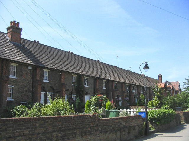 Maltings Cottages, Maltings Lane, Orsett, Essex by John Winfield