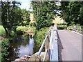 SO7230 : The River Leadon at Ketford by Bob Embleton