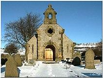 SK1971 : Little Longstone Church by Alan Rolfe
