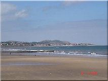 SH8678 : Bae Colwyn Beach by Dot Potter