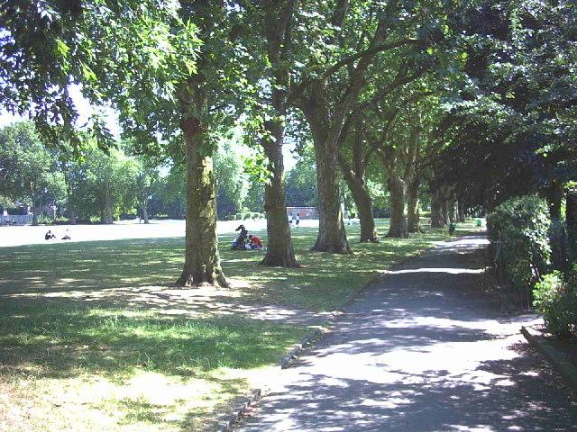 Lillie Road Recreation Ground, Fulham.
