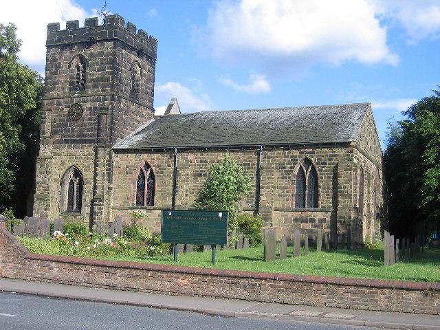 Parish church of St. George & St. Mary, Church Gresley