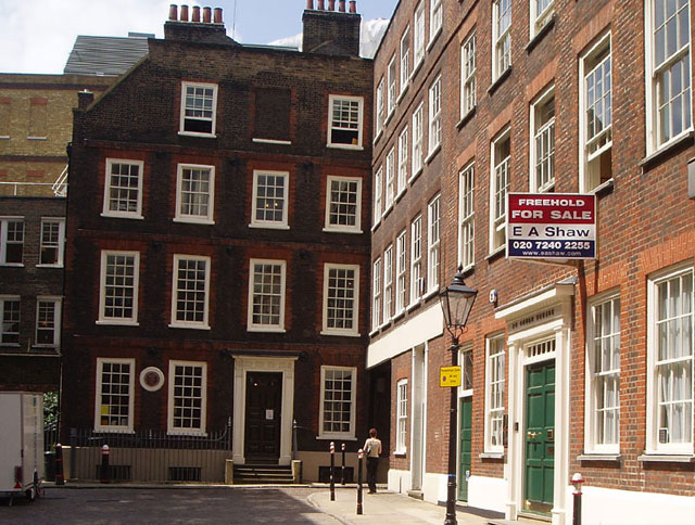 Dr Johnson's House in Gough Square