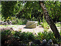SU5063 : Helen Thomas Memorial Peace Garden by Pam Brophy