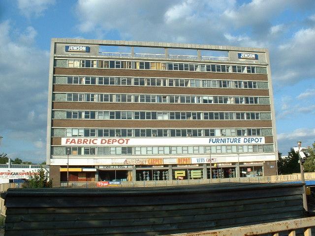 Jewson building, Southampton