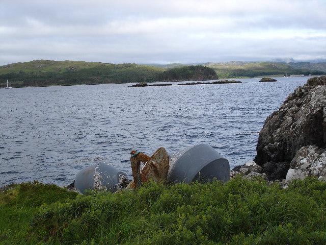 Boor Rocks in Loch Ewe