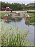 SK8634 : Denton Wharf, Grantham Canal by Kate Jewell