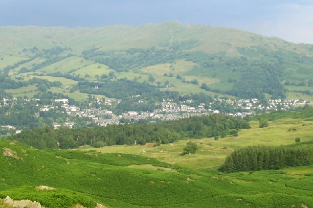 Ambleside from above