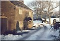 SJ9888 : A cottage at Tarden, Mellor, in the snow by Geoff Heath