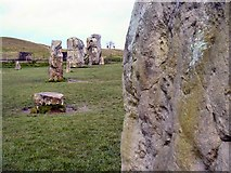 SU1070 : Avebury Ring by john spivey