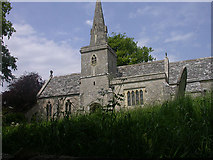 SY5889 : Church of St Michael and All Angels, Little Bredy by Bob Ford