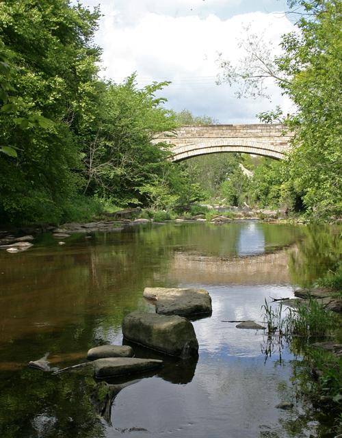 Bridge at Shotley Bridge