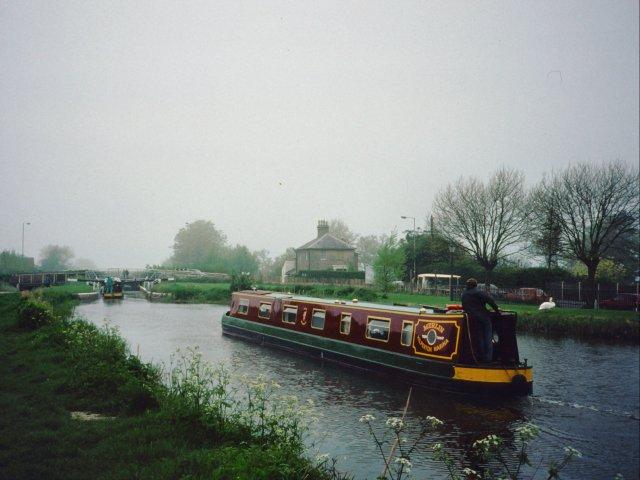 Kennet and Avon Canal Locks, Devizes
