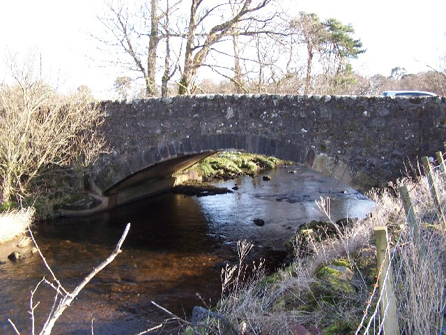 Stepends Bridge, over Green  Water