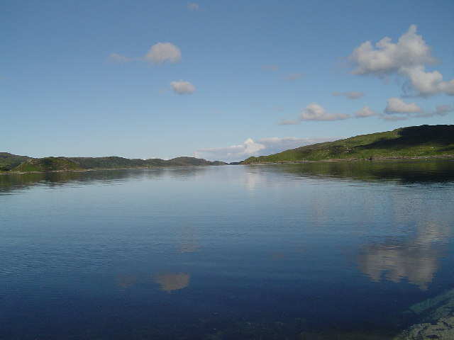 View over loch a'Chairn Bhain