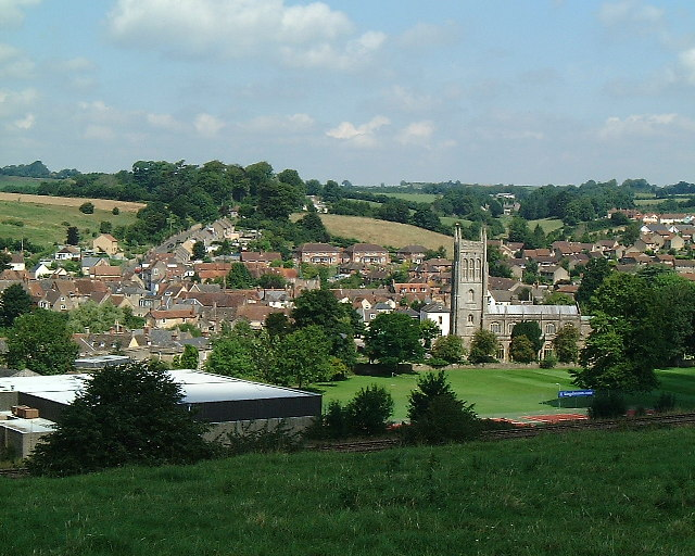Bruton view from the Dovecote