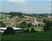 ST6834 : Bruton view from the Dovecote by Nigel Freeman
