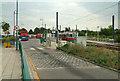 TQ3763 : Addington Village bus & tram station by Philip Talmage