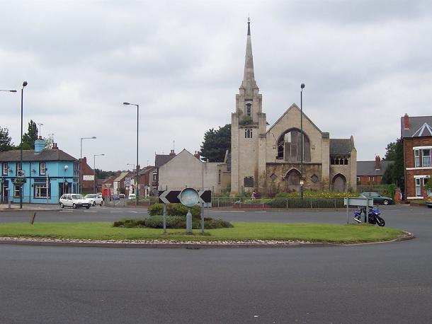 Derelict Methodist Church, Walsall
