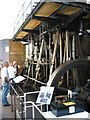 SU4924 : Steam engine at Twyford pumping station by Peter Facey