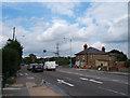 TQ1761 : Crossroads at Malden Rushett by Roger Miller