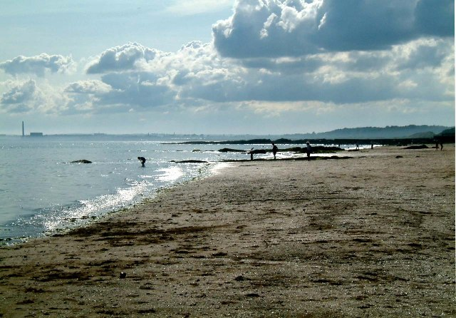 Lower Largo Beach by Jenni Wollin