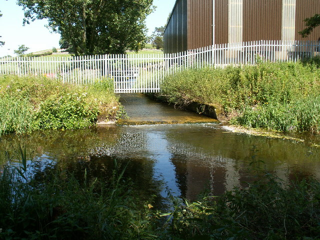 Lancaster Canal Feeder from Peasey Beck