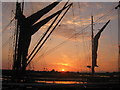TL8506 : Maldon Hythe-Thames Barge by Nick Robinson
