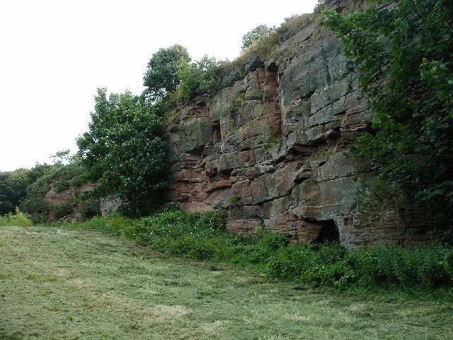 Former Sandstone Quarry, Ormsgill, Barrow