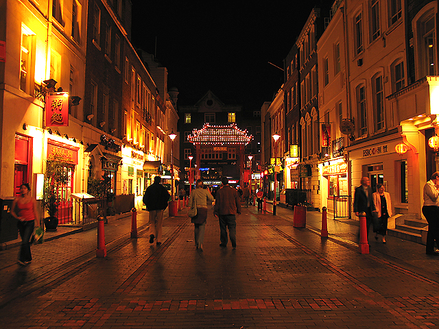 """Chinatown"" in Soho: City of Westminster"