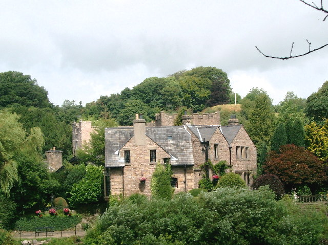 Old Hall by the Lune at Halton, near Lancaster