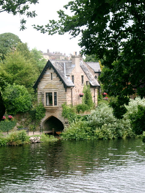 Boathouse by the Lune at Halton, near Lancaster