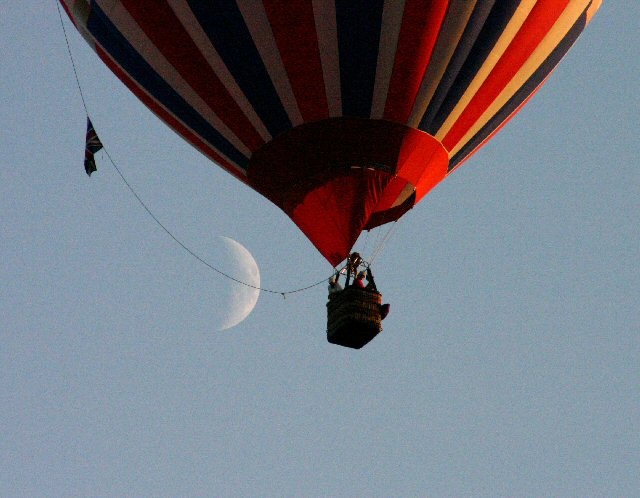 This is the MHDC planning department Hot Air Balloon.