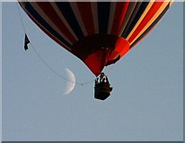 SO7636 : This is the MHDC planning department Hot Air Balloon. by Ken Ballinger