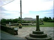 SD7513 : Roman Cross and Millennium Green by John Lomas
