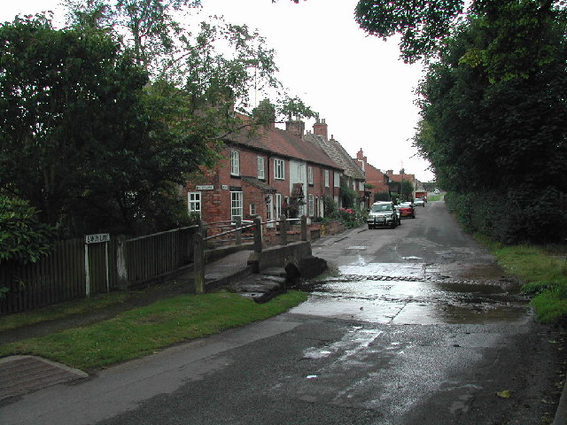 The ford Sandy Lane, Oxton