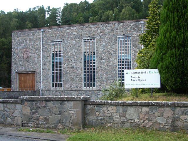 Errochty Power Station