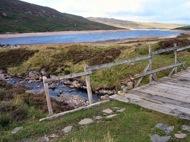 Bridge by Loch Errochty