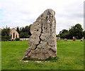 SU1069 : Single Avebury Stone by Chris Collard