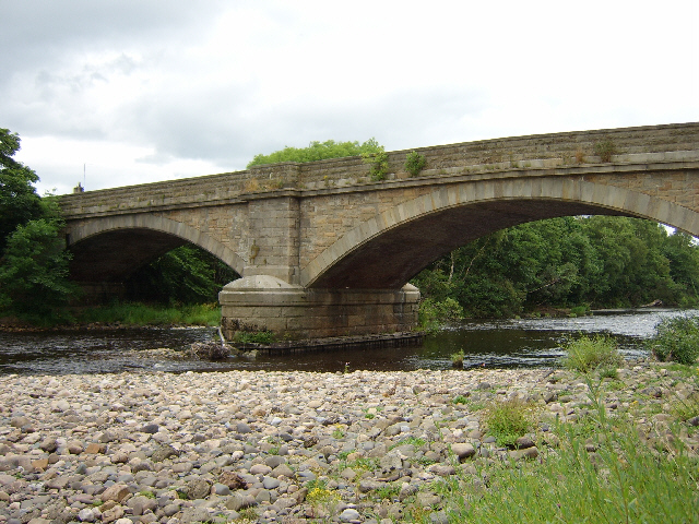 The bridge over the South Tyne at Warden