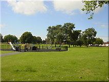 SJ4191 : Dovecot Park, Liverpool by Sue Adair