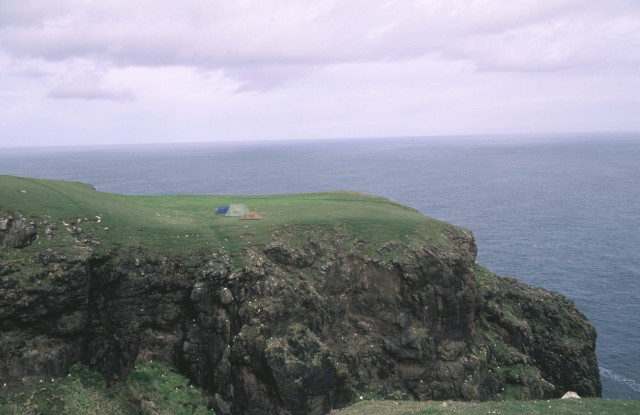 Headland across Galti Geo